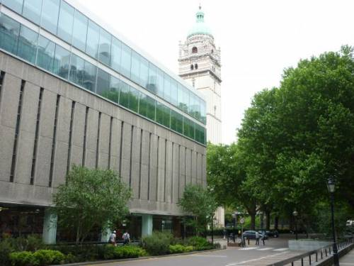 Imperial College London Library and Queen's Tower